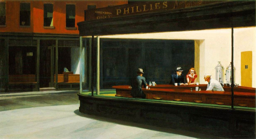 Nighthawks, Edward Hopper, 1941